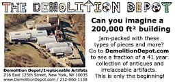 2017 - Demolition Depot Boom Box Ad