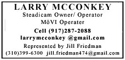 2017 - Larry McConkey Boombox Ad