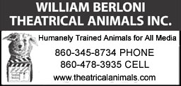2017 - William Berloni Theatrical Animals Boombox Ad