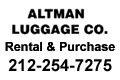 2017 - Altman Luggage Button Ad