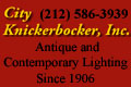 2017 - City Knickerbocker Lighting Button Ad