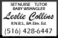2017 -  Leslie Collins Button Ad